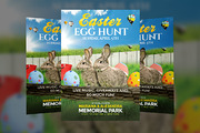 Easter Egg Hunt - Flyer Tem-Graphicriver中文最全的素材分享平台
