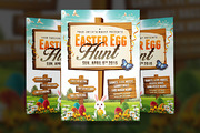Easter Egg Hunt 2 - Flyer T-Graphicriver中文最全的素材分享平台