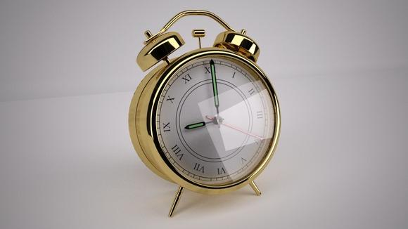 Brass Alarm Clock