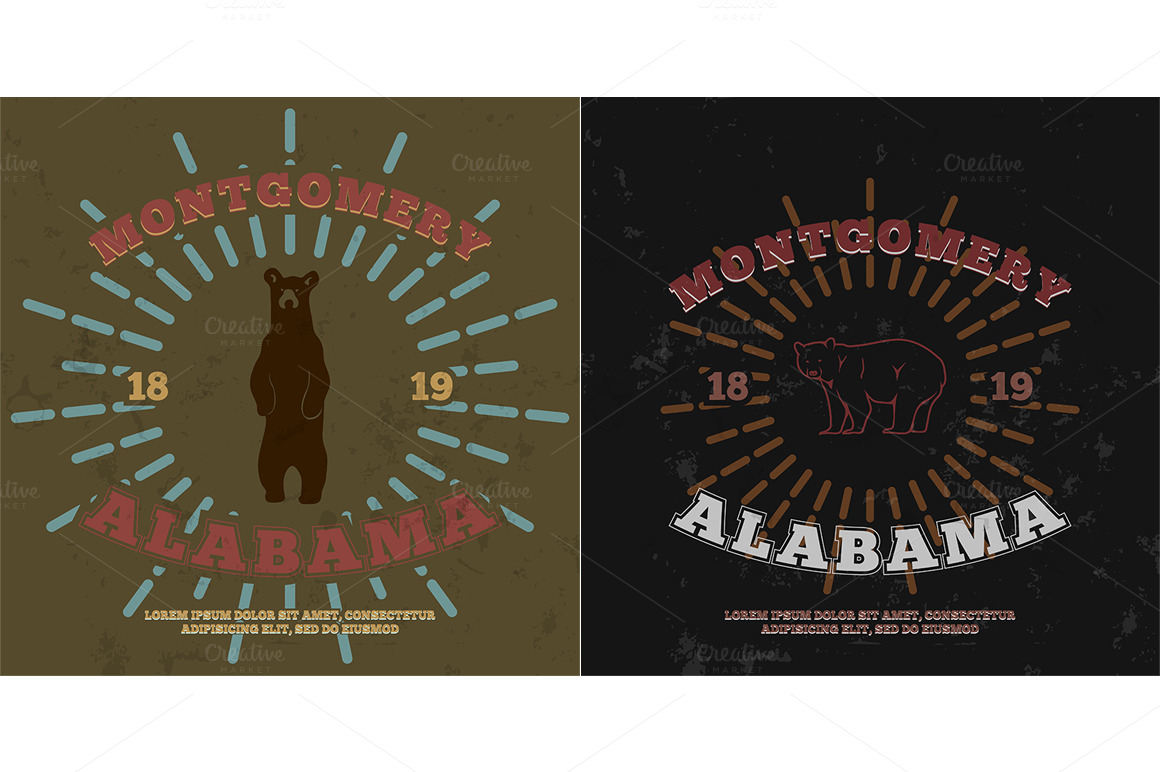 montgomery alabama t shirt graphic illustrations on