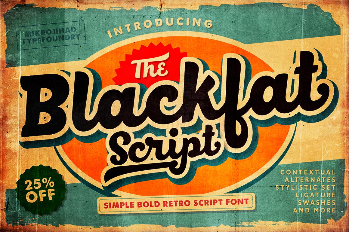 MJ Blackfat Script Font Download