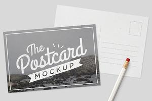 MockUp - Postcards
