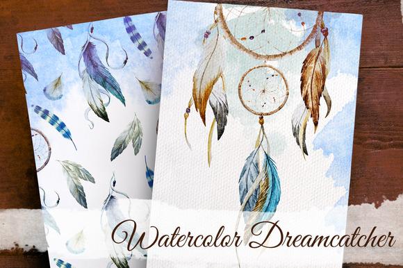 Dreamcatcher. Boho collection - Textures