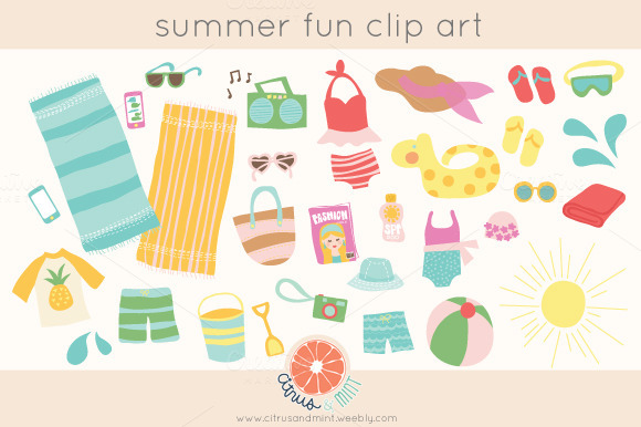 summer birthday clip art - photo #43