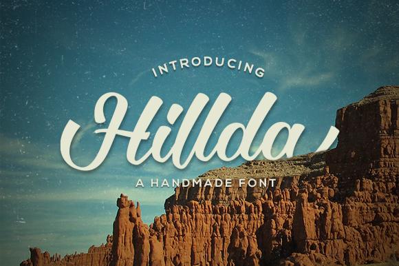 Hillda Script Font Download