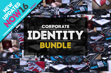 Corporate Identity Bundle +200 Files