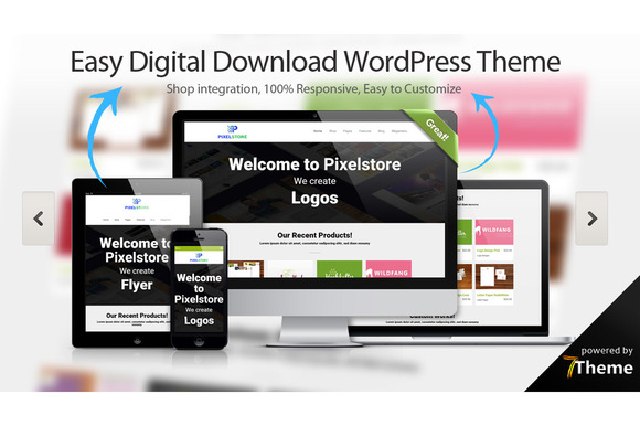 Pixelstore – Easy Digital Download