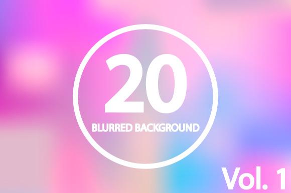 20 Blurred Backgrounds. Vol 1 - Patterns