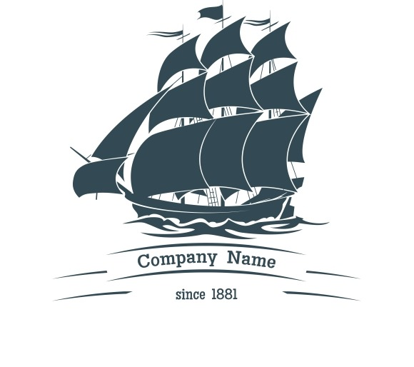 Big Sail Ship Logo