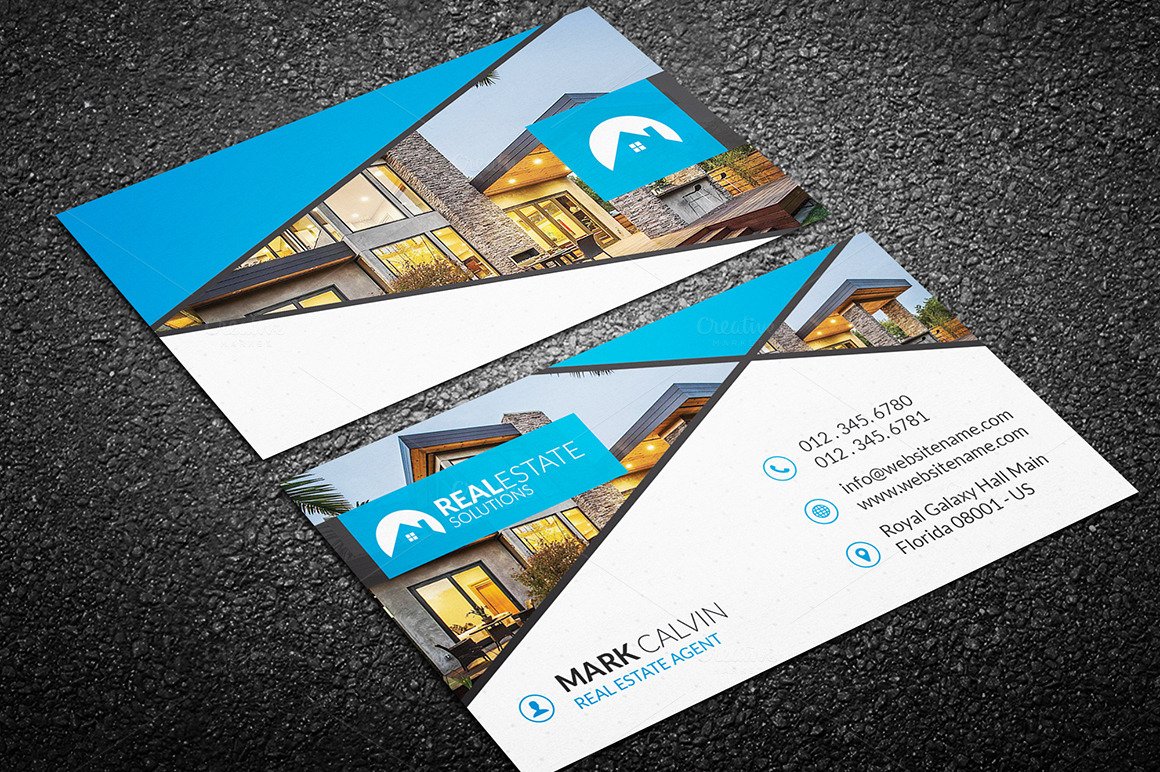 Real Estate Business Card 46 Business Card Templates on