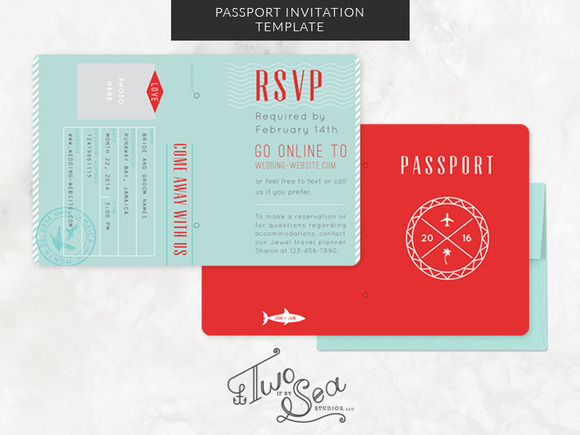 passport wedding program template - passport wedding invitation template invitation