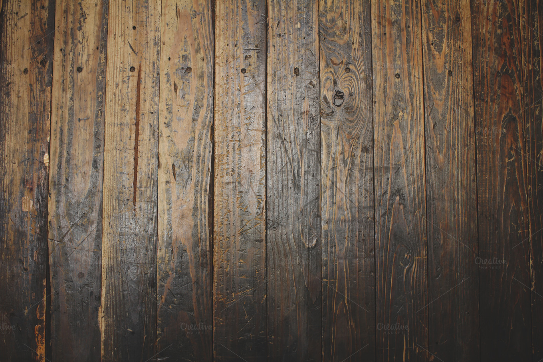 rough wood floor