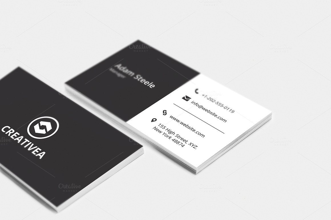 Minimal business cards templatesmberpro minimal business cards magicingreecefo Gallery