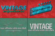 Vintage Text Effects Ver. 1-Graphicriver中文最全的素材分享平台