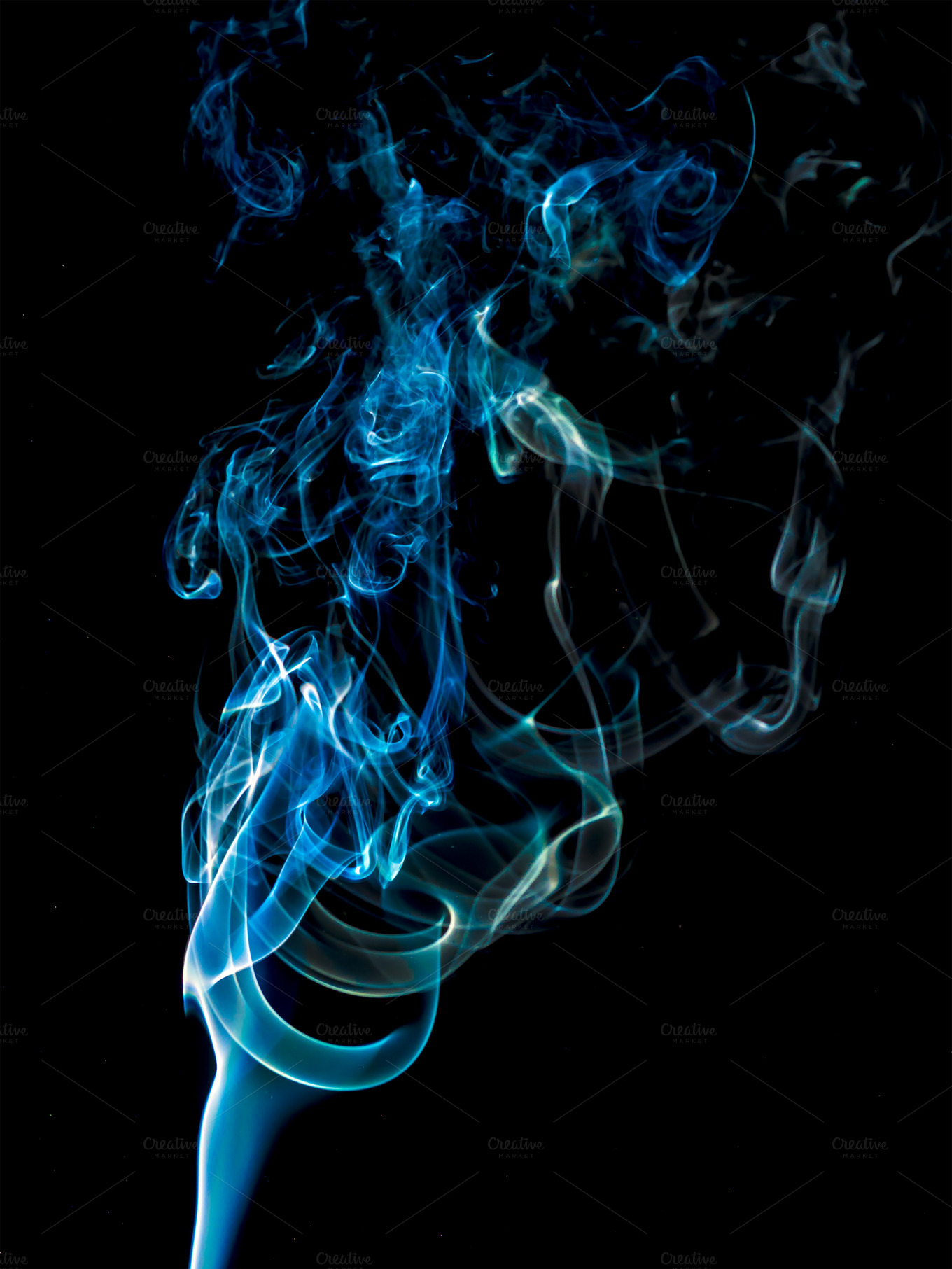 abstract smoke on black background abstract photos on creative market. Black Bedroom Furniture Sets. Home Design Ideas