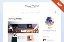 Hello World - WordPress Theme