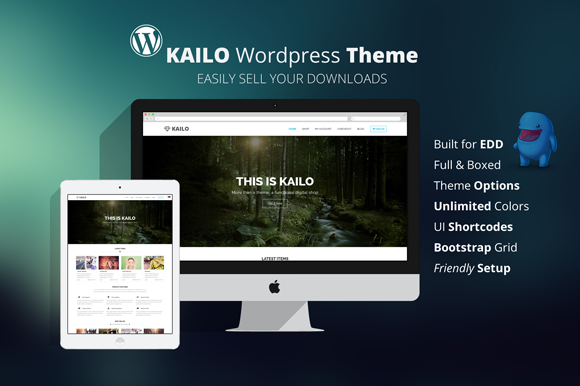 Kailo – WordPress Digital Shop