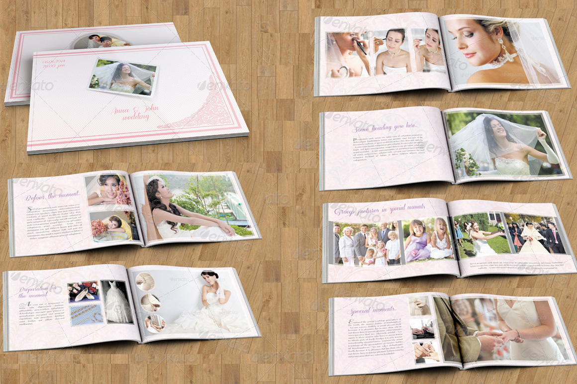 wedding photography brochure template - wedding photography magazine v102 brochure templates on