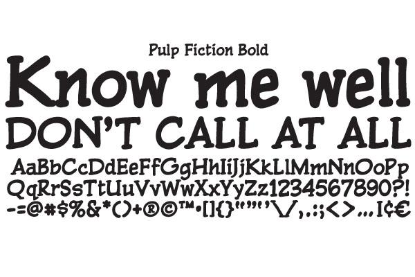 Pulp Fiction ~ Serif Fonts on Creative Market