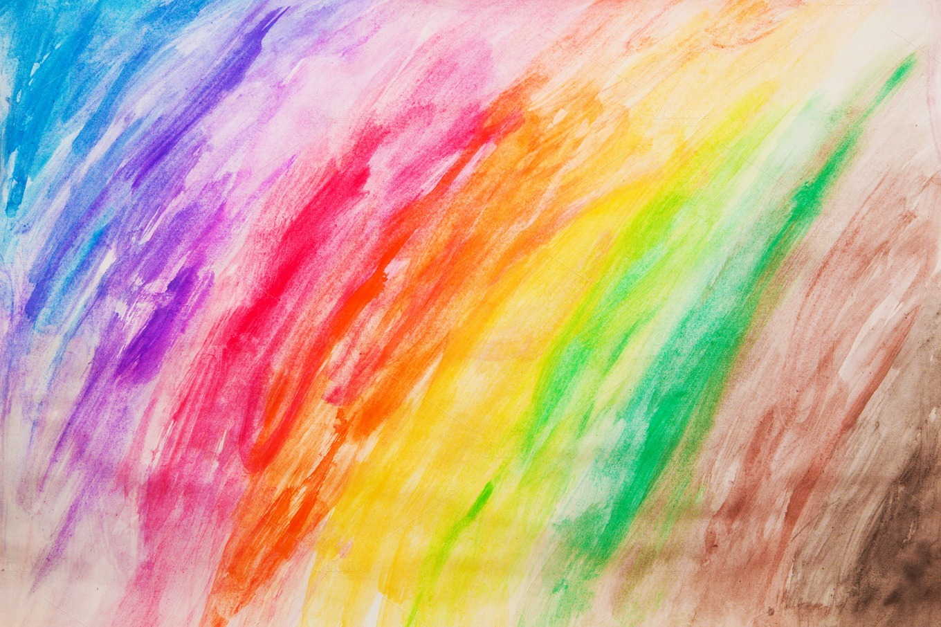 Vibrant Colorful Painting Pattern Abstract Photos On