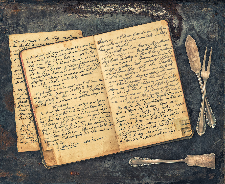 Handwritten Antique Recipe Book Food Amp Drink Photos On Creative Market