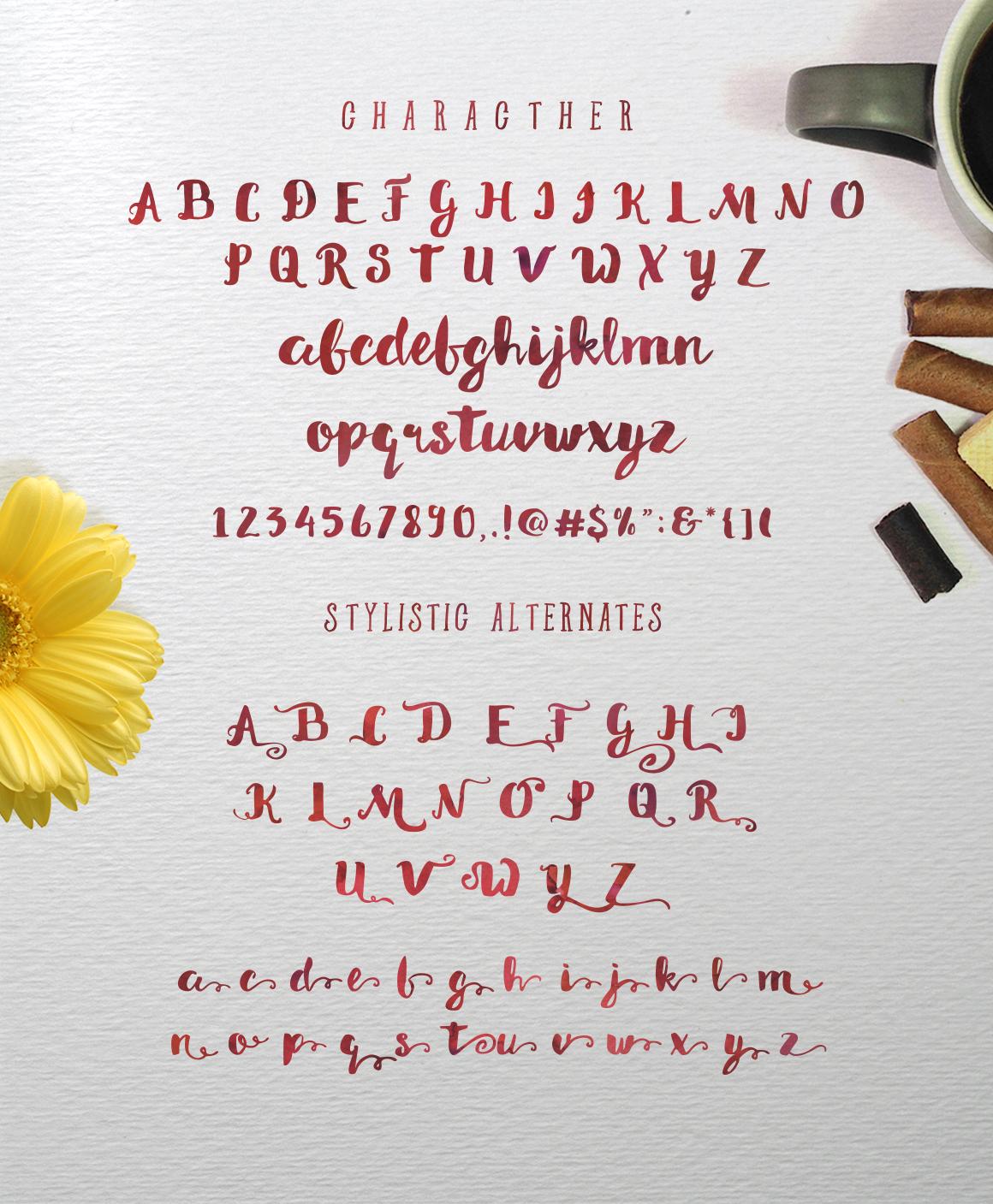 Morning Sugar Typeface + Extra ! - Display - 2