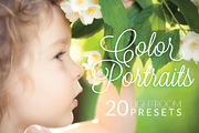 Color Portraits Lightroom P-Graphicriver中文最全的素材分享平台