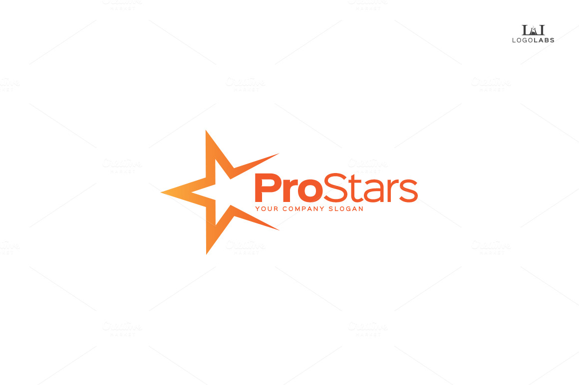 pro star logo logo templates on creative market