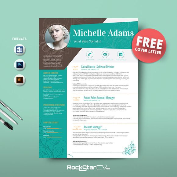 Download Resume Templates Microsoft Word Free Resume Templates