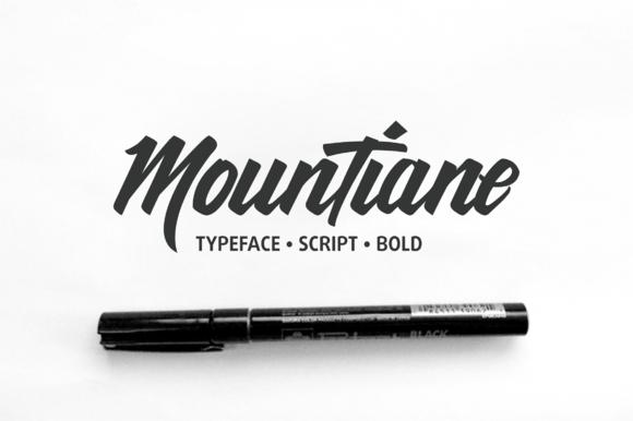 MounTiane Font Download