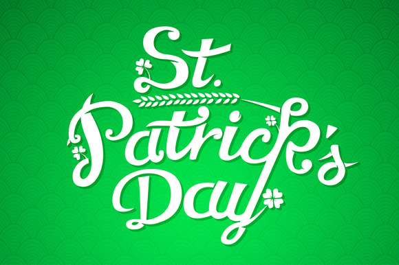 St. Patrick Day Greeting Card - Illustrations