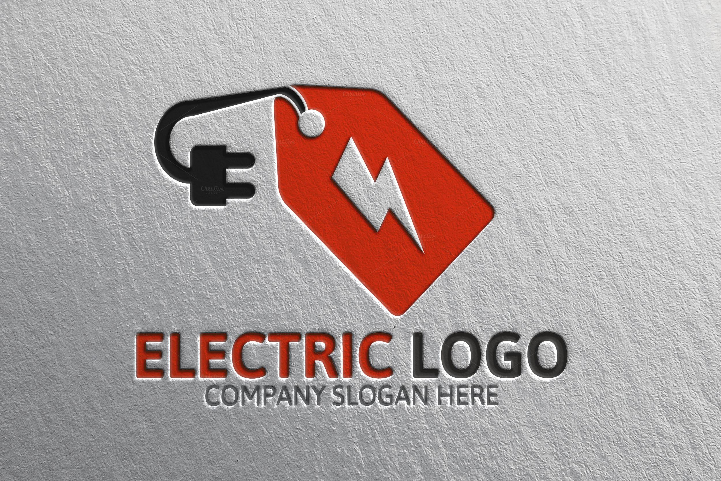 Power Electric Discount Logo Logo Templates On Creative
