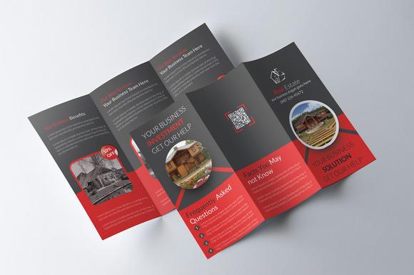 Tri fold real estate brochure brochure templates on for Real estate tri fold brochure template