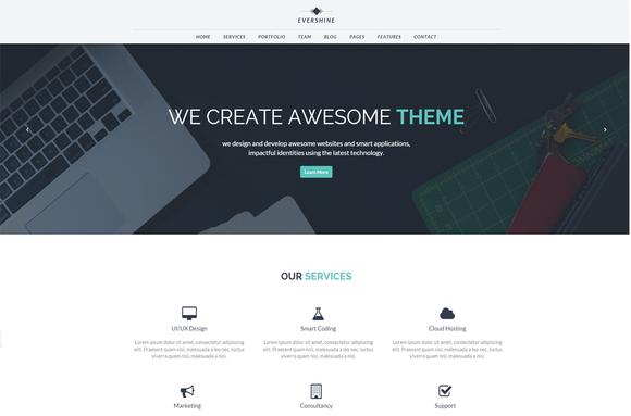 Evershine Multipurpose HTML5 Templa