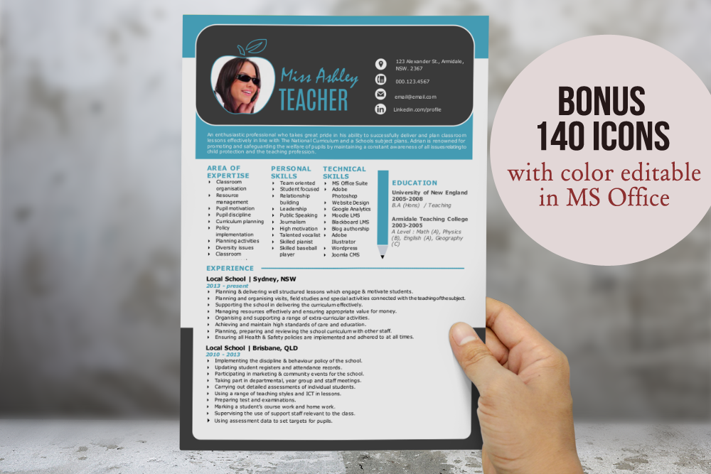 modern resume for ms word resume templates on