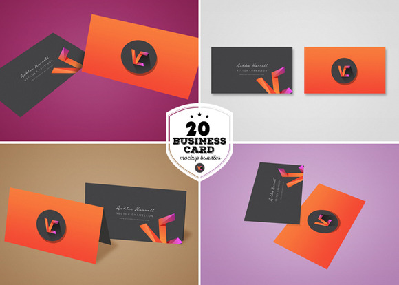 Creativemarket 20 business card mockup bundle 252006 heroturko creativemarketvectorchameleon252006 20 business card mockup bundle wow your clients with this awesome 20 business card mockup bundle use this mockup reheart Images