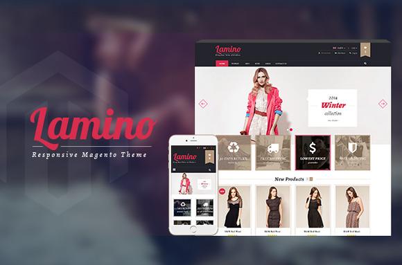 Lamino - Responsive Magento Theme - Magento - 1