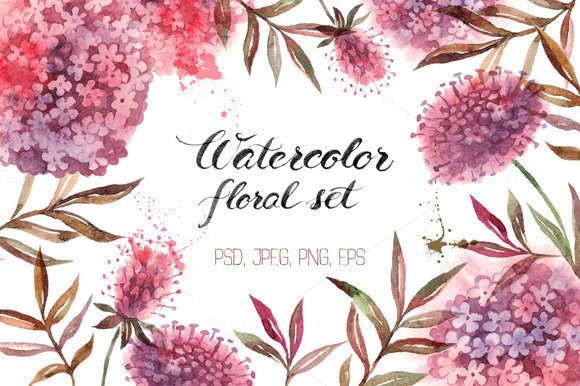 https://creativemarket.com/pimlena/239338-Watercolor-Floral-Set