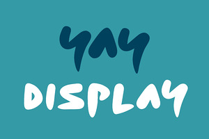 Yay Display Typeface