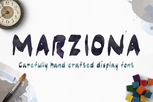 Marziona Pro Font Download