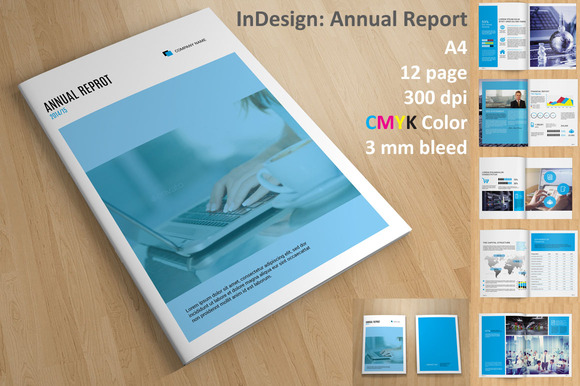 InDesign: Annual Report