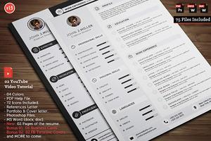 Clean CV Resume