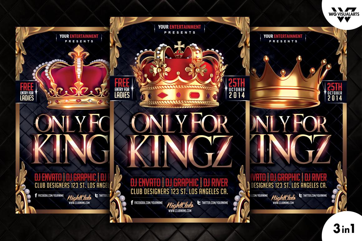 Royal King Flyer Template Flyer Templates On Creative Market