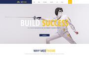 MeeTheme - 2 OnePage PSD $2-Graphicriver中文最全的素材分享平台