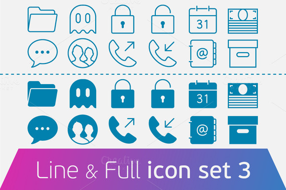 Business and Office. set 3. - Icons