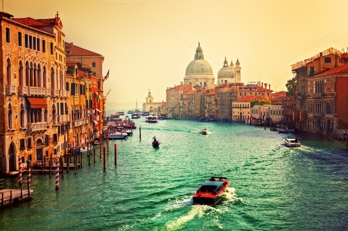 Grand Canal Venice Venice Italy Grand Canal