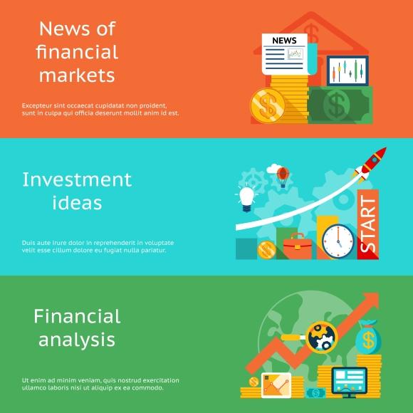 Finance News: Graphics On Creative Market