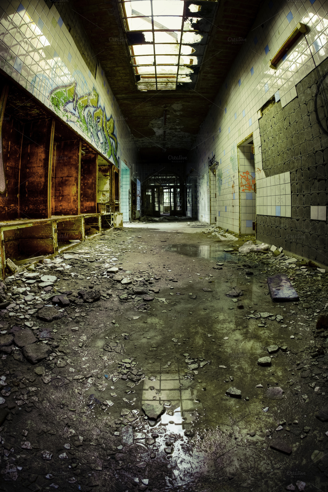 inside abandoned buildings photography - photo #18