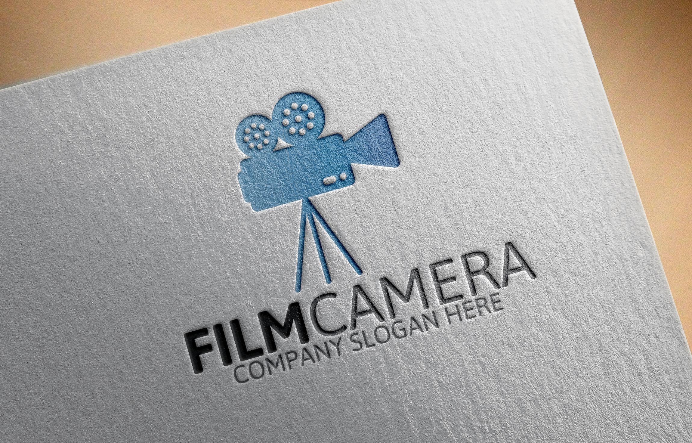 Film camera logo logo templates on creative market for Camera film logo