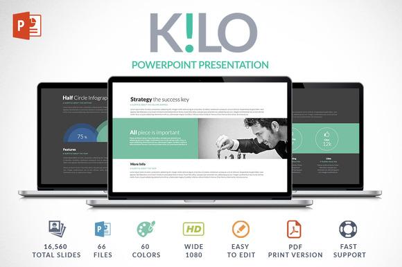 Kilo | Powerpoint Presentation - Presentations - 1